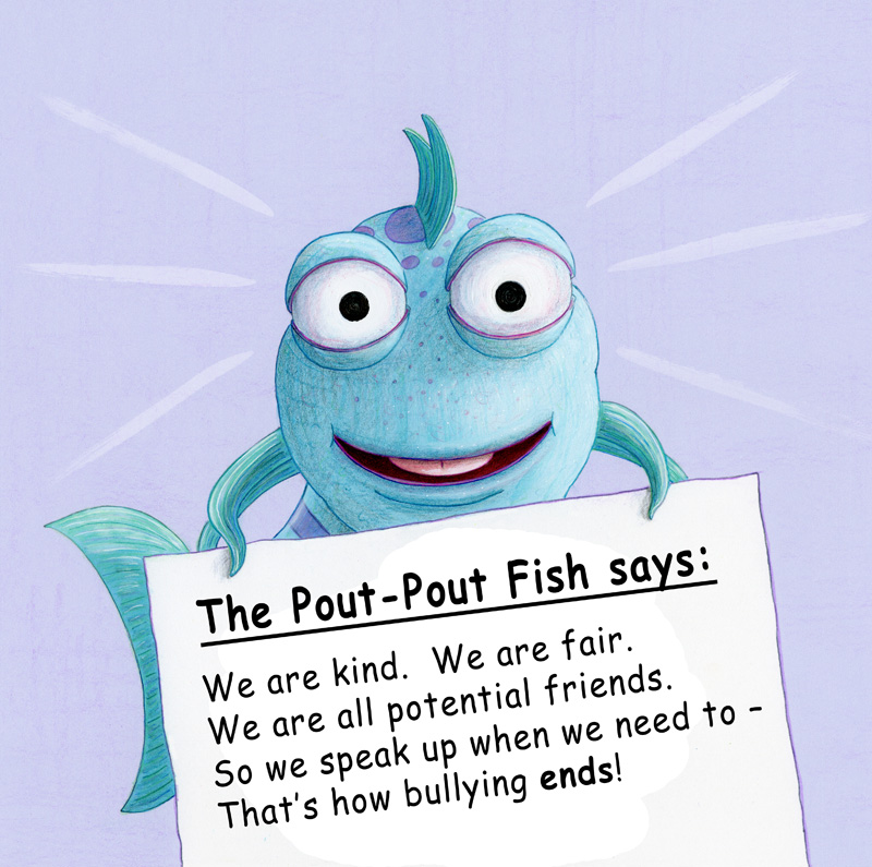 Bullying ends when we all speak up!